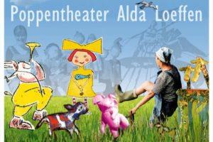 Poppenspel kinderfeestje met Alda Loeffen