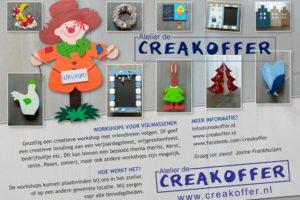 Creatief feestje met De Creakoffer