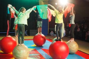 Circusfeestje bij Circus Rotjeknor