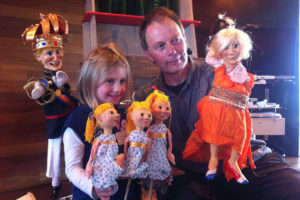 Poppentheater kinderfeestje met Frans Hakkemars