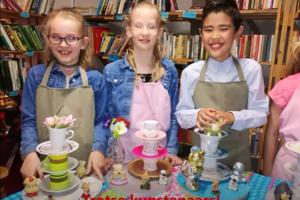 'Trash Art' kinderfeestje