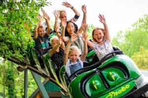 Kinderfeestje bij Pretpark de Valkenier