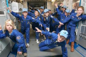 Ruimtevaart kinderfeestje