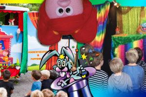 Poppenkast kinderfeestje met Theater Fantast