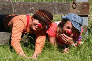 Clowns met een lach